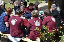 Közösségek hete - Nemeshanyi csipkekészítők